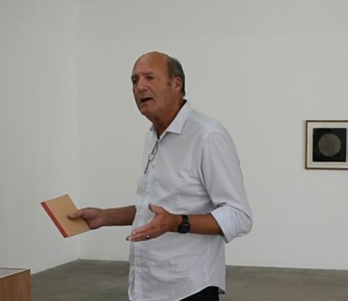 Meeting with Francis Limérat about the Lewitt & Lerisse exhibition - Treignac Projet
